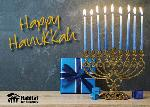 Click here for more information about Happy Hanukkah - Menorah