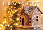 Click here for more information about Happy Holidays - Gingerbread